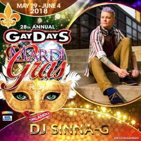 Sinna-G Gay DayS 2018